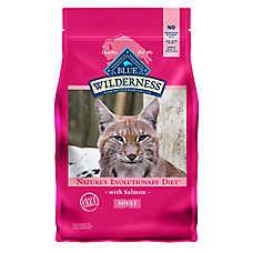 BLUE Wilderness® Adult Cat Food - Grain Free, Natural, Salmon