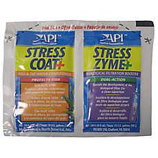 API® Stress Coat & Stress Zym Aquarium Water Conditioner Foil Pack