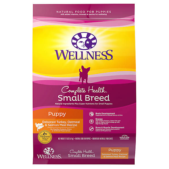 Wellness 174 Complete Health Small Breed Puppy Food Natural