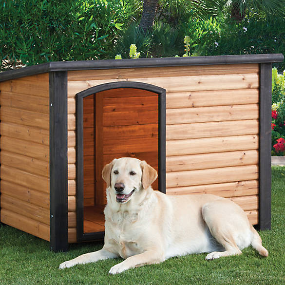 Top pawr outback log cabin dog house dog houses pens for Outback log cabin dog house