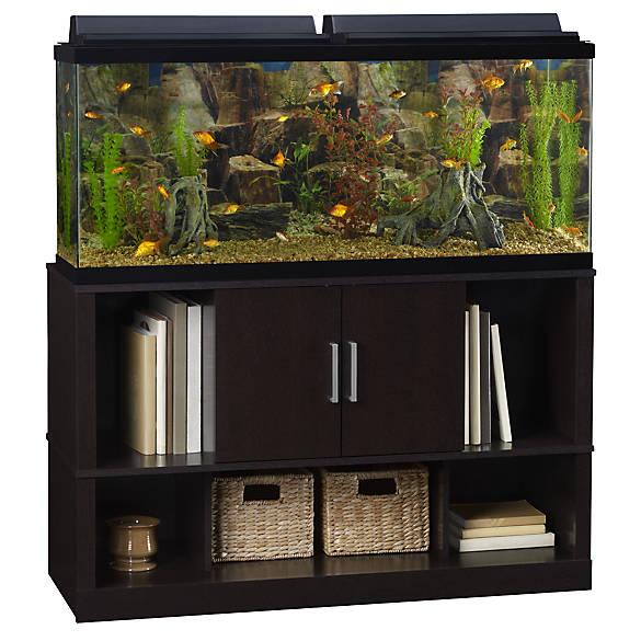 Top Fin® Open U0026 Close Storage Aquarium Stand