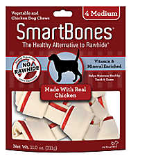 SmartBones® Medium Chews Dog Treat - Chicken