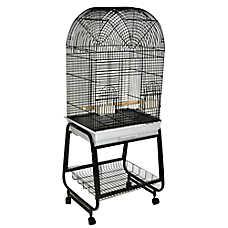 A&E Cage Company Dome Top & Shelf Bird Cage