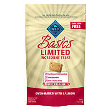 BLUE Basics® Biscuits Dog Treat - Natural, Limited Ingredient