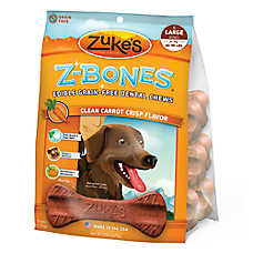 Zuke's® Z-Bones Large Dental Dog Chews - Grain Free, Carrot