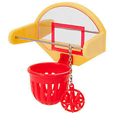 JW Pet® Insight Activitoys Birdie Basketball Toy