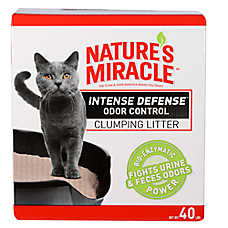 Nature's Miracle® Intense Defense Odor Control Clumping Cat Litter