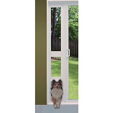 Perfect Pet Modular Vinyl Pet Patio Door Dog Dog Doors Gates