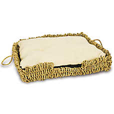 WARE® Seagrass-N-Burlap Cat Bed