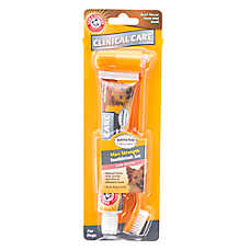ARM & HAMMER™ Clinical Pet Care Dog Toothpaste & Brush Set