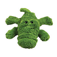 KONG® Ali The Alligator Dog Toy - Plush, Squeaker