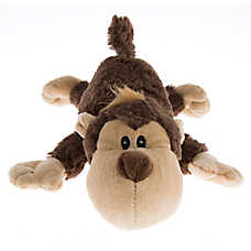 KONG® Cozie Spunky Monkey Dog Toy