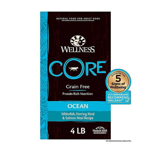 Wellness Core Adult Dog Food Natural Grain Free Ocean Formula
