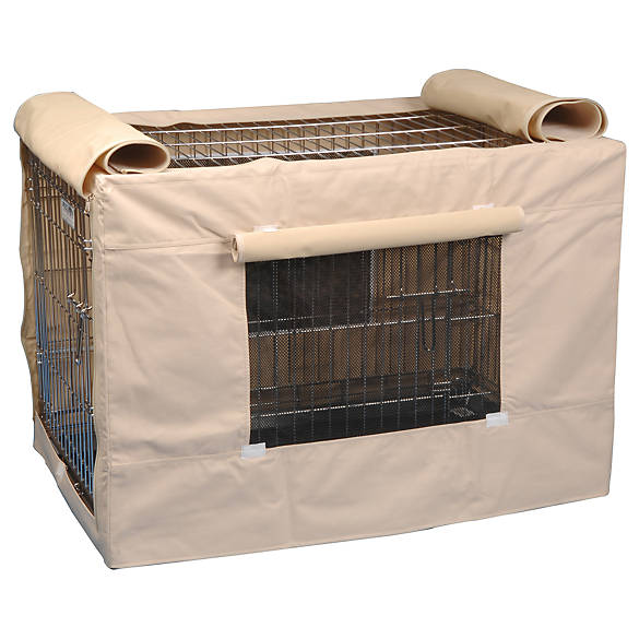 Dog Crates and Kennels. Dog crates create a cozy place for your pet at home or on the go. Containing your canine companion means providing him a secure retreat that simulates a den. Stylish crates and kennels can be placed in your own bedroom. Find durable and versatile dog .