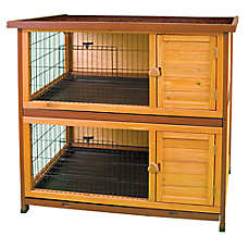 WARE® Premium+™ Double Decker Rabbit Hutch