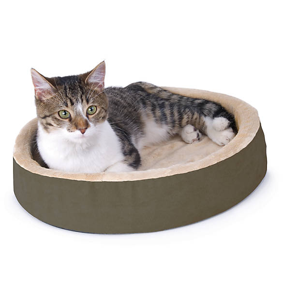 Thermo Kitty Bed Cuddle Up Heated Cat Bed Cat Heated
