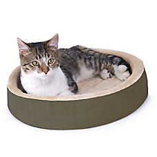 Thermo-Kitty Bed™ Cuddle Up Heated Cat Bed