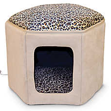 Thermo-Kitty Bed™ Clubhouse Heated Cat Bed