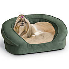 K&H Deluxe Ortho Bolster Sleeper Pet Bed
