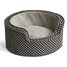 K&H Round Sleeper Self-Warming Pet Bed