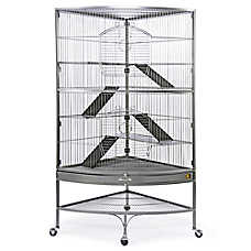 Prevue Pet Products Corner Ferret Cage