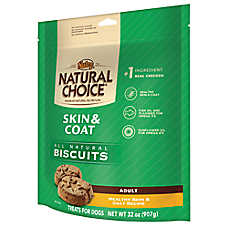 NUTRO® NATURAL CHOICE® Skin & Coat Adult Dog Biscuit