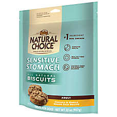 NUTRO® NATURAL CHOICE® Sensitive Stomach Adult Dog Biscuit