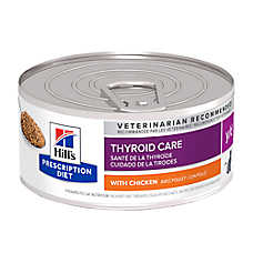 Hill's® Prescription Diet® y/d Thyroid Care Cat Food - Chicken