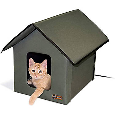 K H Manufacturing Outdoor Heated Cat House
