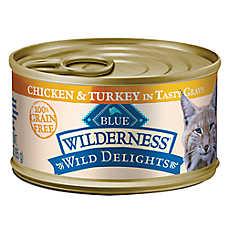BLUE Wilderness® Wild Delights™ Adult Cat Food - Grain Free