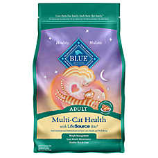 BLUE™ Multi-Cat Health Chicken & Turkey Adult Cat Food