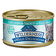 sale $1.25 ea.	when you buy 12+ BLUE Wilderness® cat food, 3 oz. cans