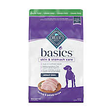 BLUE Basics® Adult Dog Food - Limited Ingredient, Grain Free, Turkey & Potato
