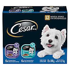 Cesar® Entrées Variety Pack Dog Food