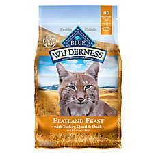 BLUE Wilderness® Grain Free Chicken Mature Adult Cat Food