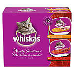 WHISKAS® Meaty Variety 12-Pack Cat Food