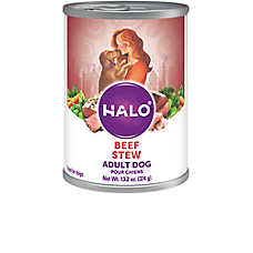 HALO® Adult Dog Food - Natural, Holistic Beef Recipe