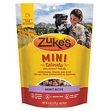 Zuke's® Mini Naturals™ Wild Rabbit Natural Training Dog Treat