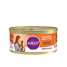 HALO® Indoor Cat Food - Natural, Grain Free, Chicken & Beef Recipe