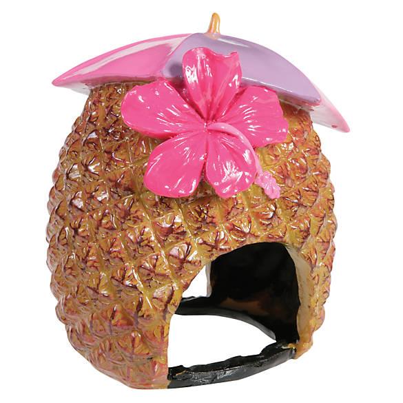 Top Fin® Pineapple Aquarium Ornament   fish Ornaments   PetSmart