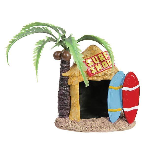 Top fin tiki surf shop aquarium ornament fish ornaments for Petsmart fish decor