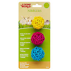 Living World® Nibblers Natural Willow Small Pet Chews