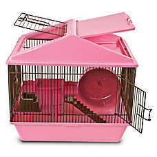 Critter WARE® Animal House 2-Level Hamster Cage