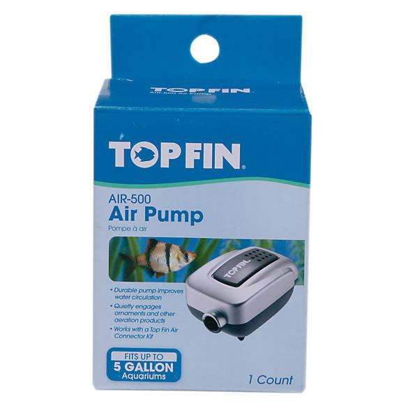 Top fin mini aquarium air pump fish air water pumps for Petsmart fish tank filters