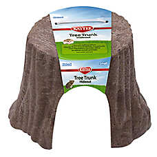 KAYTEE® Natural Tree Trunk Small Animal Hideout