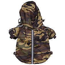 Pet Life Reflecta-Sport Windbreaker Raincoat