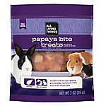 All Living Things® Papaya Bite Small Animal Treat