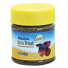 Aqueon® Betta Treat Freeze Dried Bloodworms Fish Treat
