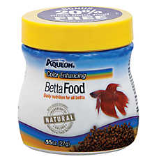 Aqueon betta color enhancing pellets fish food fish for Betta fish pellets