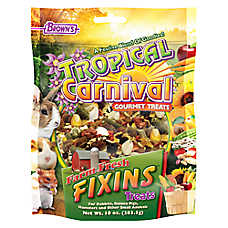 Brown's® Tropical Carnival® Farm Fresh Fixins™ Small Animal Treats